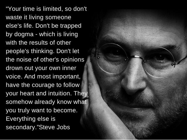 Steve Jobs veivalg