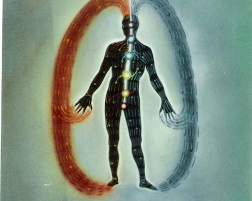 Når vi hindrer energien fra å komme helt inn i kroppen